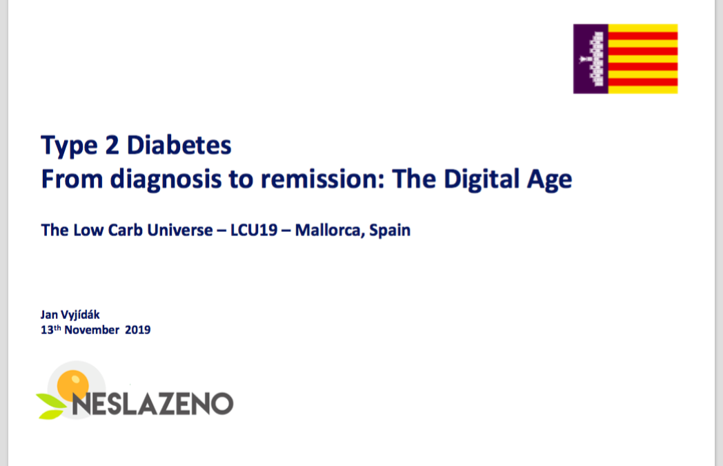 Vyjídák (2019) Type 2 Diabetes – From diagnosis to remission – The Digital Age