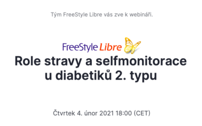 Krejčí (2021) Role stravy aselfmonitorace upacientů sdiabetem 2.typu (Abbott webinář)