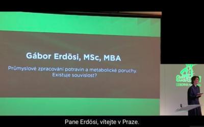 Erdosi (2018) Průmyslové zpracování potravin ametabolické poruchy – existuje souvislost? (FOODNEWS2018, Praha)