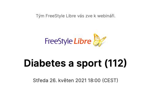 Krejčí (2021) Diabetes asport (záznam Abbott webináře)